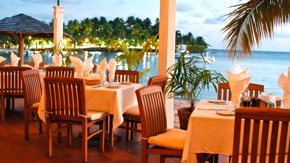 Barbuda Belle Luxury Beach Hotel - Barbuda restaurant with French ...