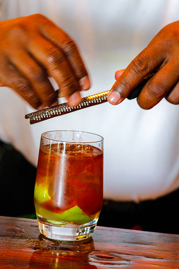 Old Fashioned rum punch 2