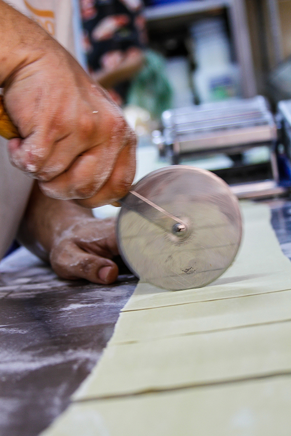 Handmade Tortelloni by La Bussola Restaurant