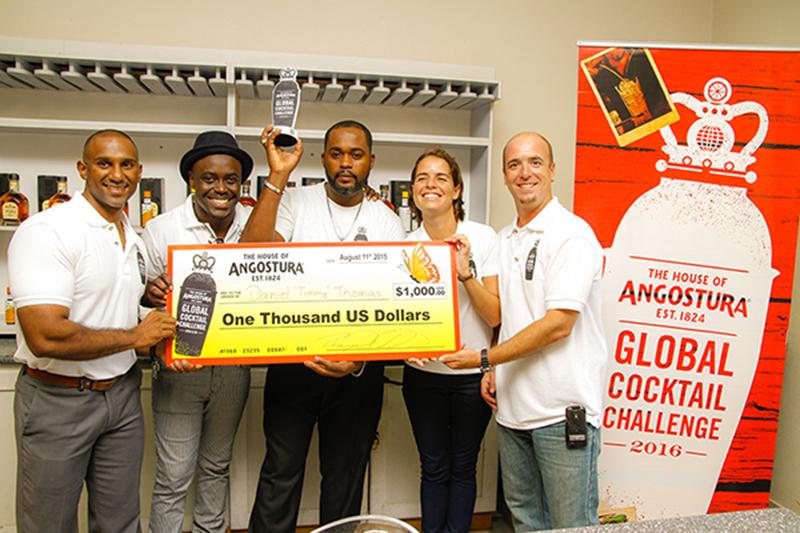 Angoustra Global Cocktail Challenge Antigua 2015