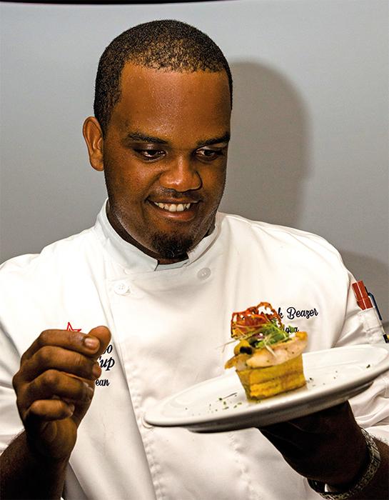 Rodrick Beazer Caribbean Cooking Cup Antigua Red snapper recipe 2015