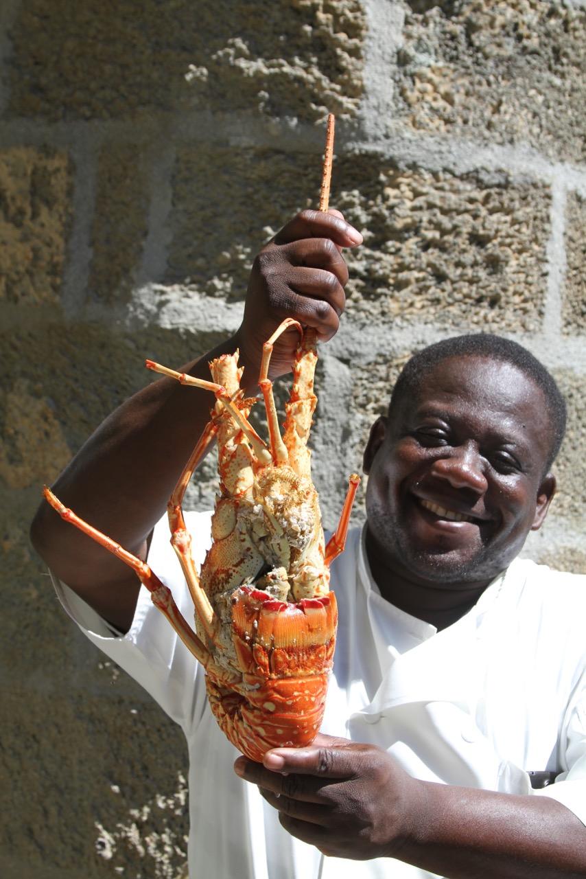 Lobster Au Gratin - Pillars Admiral's Inn