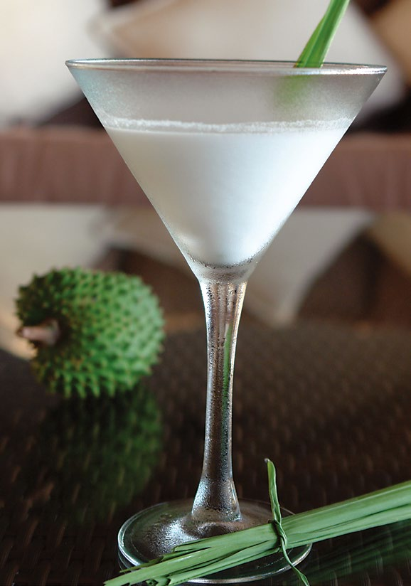 Soursop Lemongrass Martini